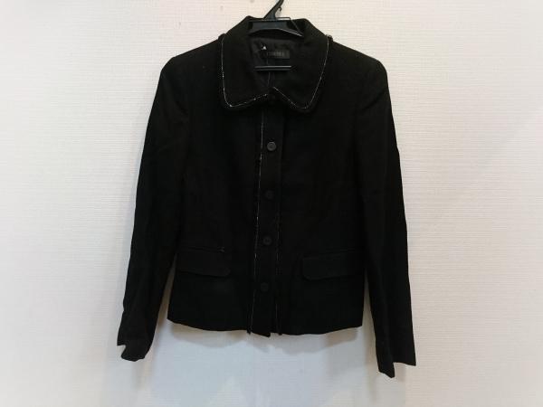 コルディア ジャケット サイズ38 M 黒