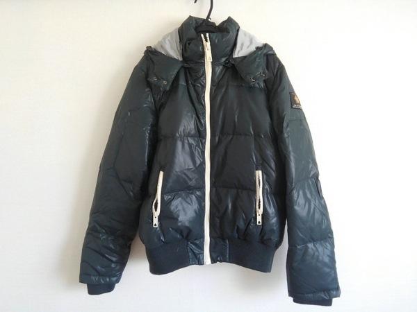 スコッチアンドソーダ ダウンジャケット サイズM メンズ美品  ダークグリーン 冬物