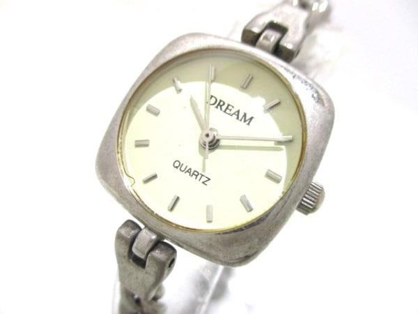 ドリーム 腕時計 - レディース アイボリー