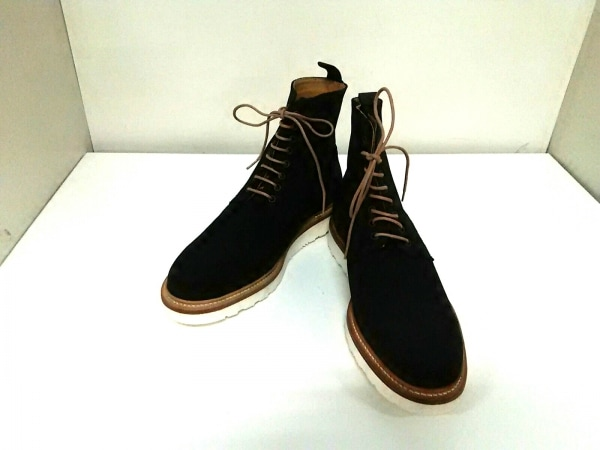 バーウィック ショートブーツ 8 メンズ 黒