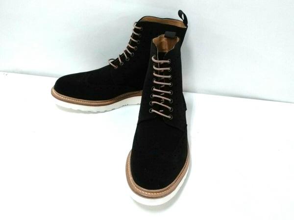 バーウィック ショートブーツ 7 メンズ 黒