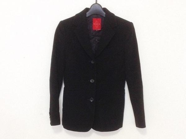 リステア ジャケット サイズ38 M 黒 冬物