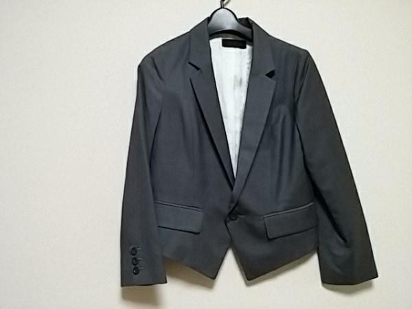 アンドエー ジャケット サイズ38 M グレー
