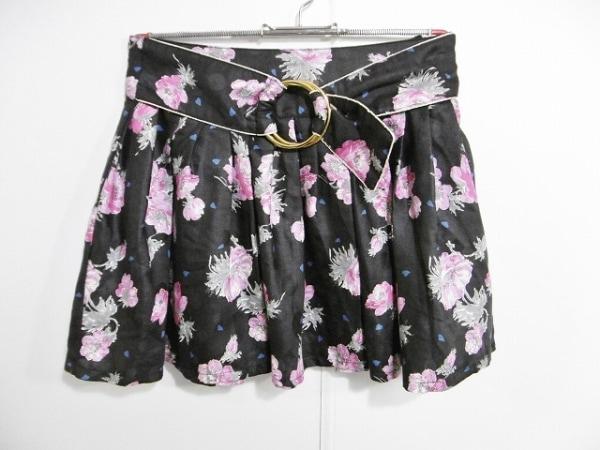 ランゲージ ミニスカート サイズ36 S 花柄