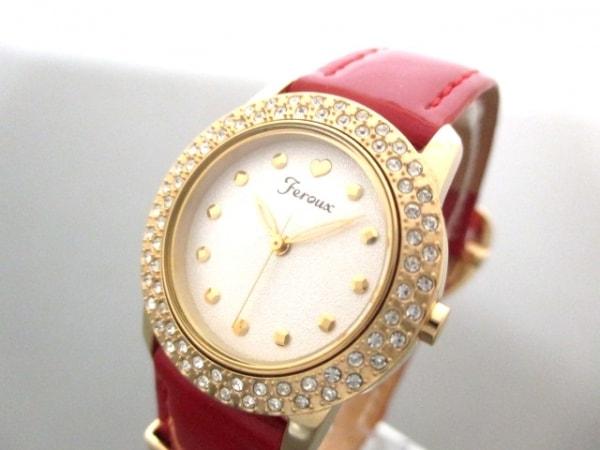 フェルゥ 腕時計美品  - 1032-002662-04