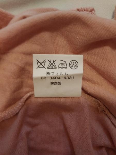 ハーモニカ 半袖Tシャツ レディース ピンク