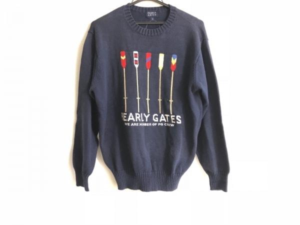 パーリーゲイツ 長袖セーター サイズ1 S