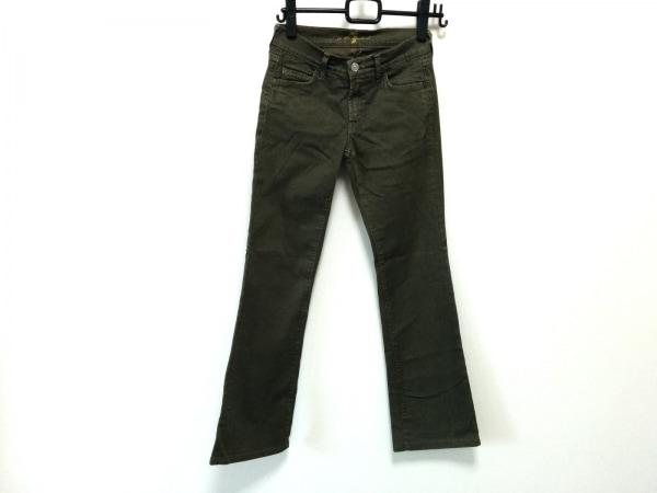 セブンフォーオールマンカインド パンツ サイズ25 XS レディース カーキ