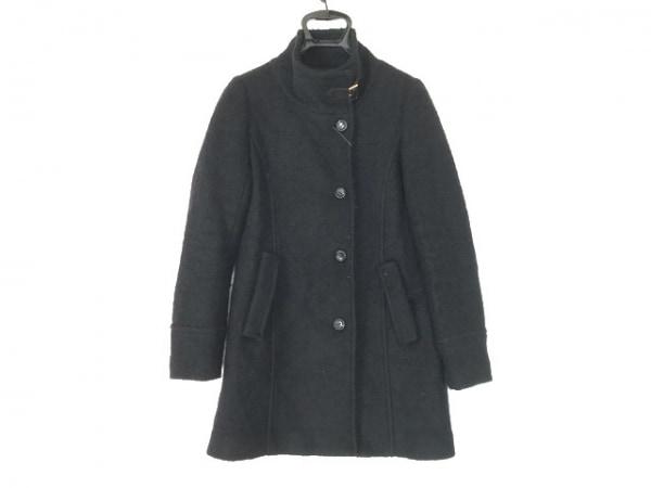 エクリュフィル コート サイズ2 M 黒 冬物
