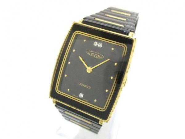 オレオール 腕時計 SW-323M レディース 黒