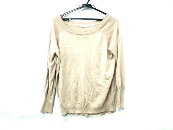 アイバイオプティチュード 長袖セーター サイズ1 S レディース ベージュ