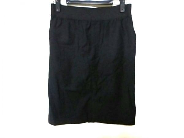 エム.フィル スカート サイズ38 M 黒×白