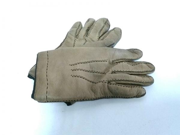 ガラグローブ 手袋 レディース ブラウン