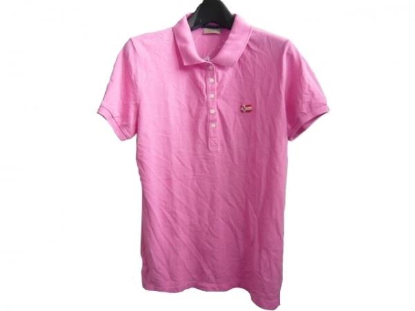 ナパピリ 半袖ポロシャツ サイズM ピンク
