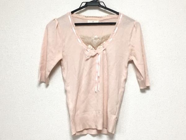 カールパークレーン 半袖セーター サイズM