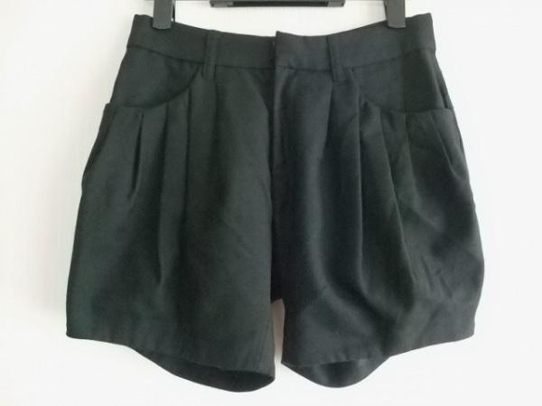 ナバサナアメリカンラグシー ショートパンツ サイズ0 XS レディース美品  黒