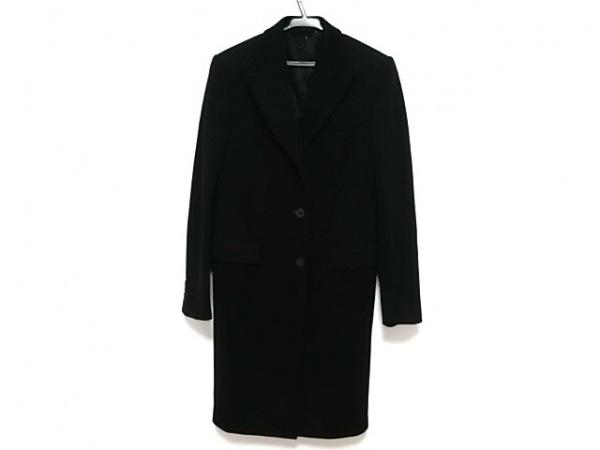 イタリアインディペンデント コート サイズ42 L メンズ新品同様  黒