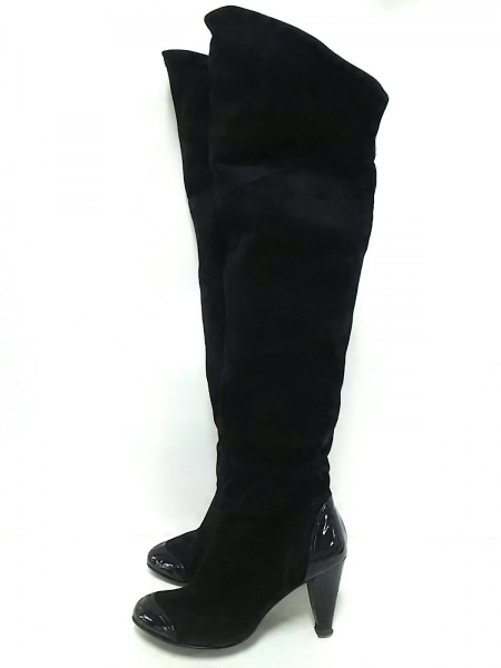 ビバアンジェリーナ ロングブーツ 23 黒