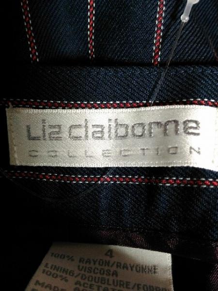 Liz Claiborne(リズクレイボーン) ショートパンツ サイズ4 XL レディース ストライプ