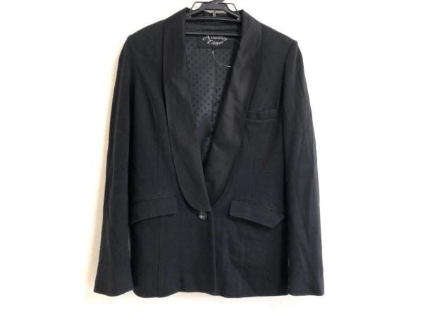 【中古】 アナザーエディション ANOTHER EDITION ジャケット サイズS レディース 黒