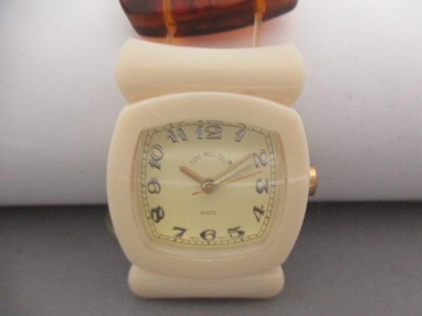 タイムウィルテル 腕時計 - レディース