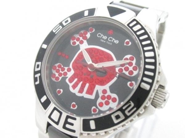 チチ 腕時計 CC813 レディース スカル