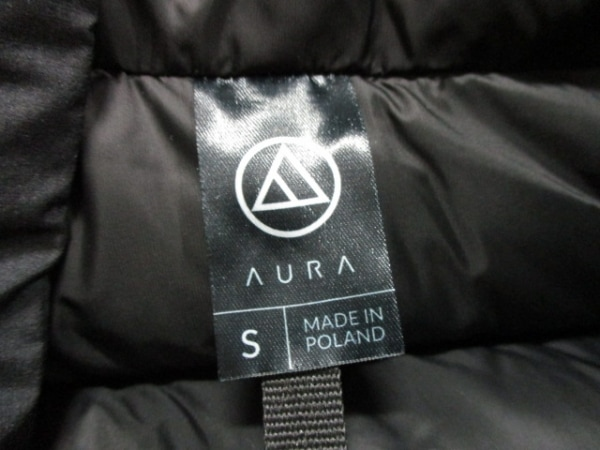 AURA(オーラ) ダウンジャケット サイズS メンズ美品  黒 冬物 3