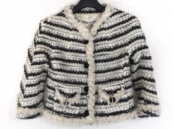 トゥエンティミリオンフラグメンツ ジャケット サイズ1 S レディース 白×黒