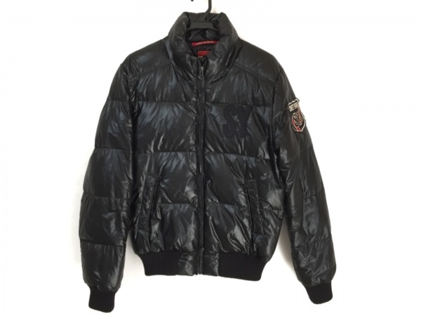 SWEET YEARS(スウィート イヤーズ) ダウンジャケット サイズM メンズ 黒 冬物