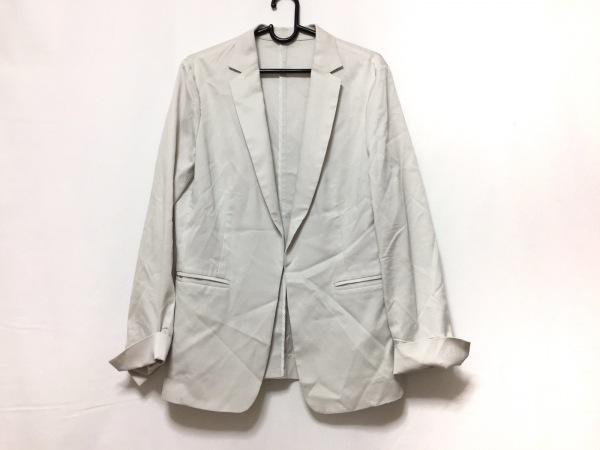 22OCTOBRE(ヴァンドゥ オクトーブル) ジャケット サイズ40 M レディース ライトグレー