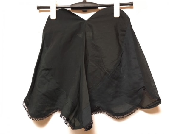 ノゾミイシグロ ショートパンツ サイズS 黒