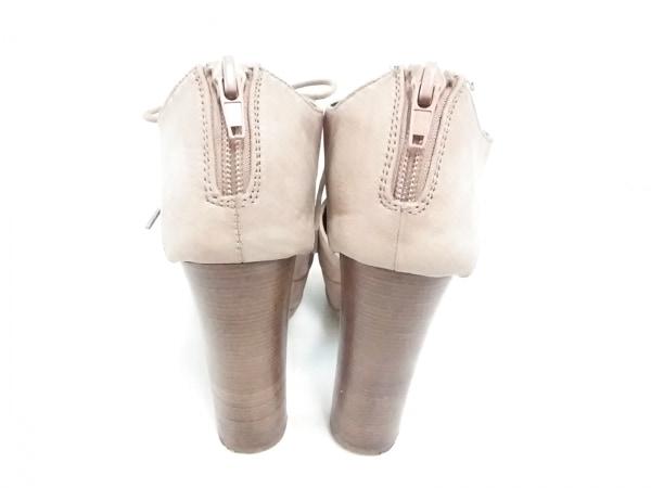 マウジー 靴 M レディース ベージュ レザー