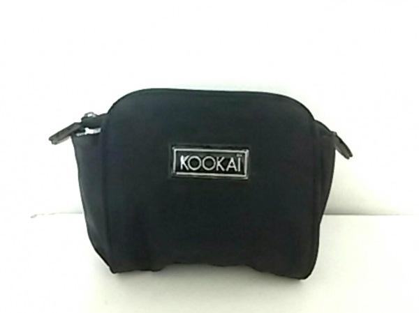 KOOKAI(クーカイ) ポーチ 黒 ナイロン