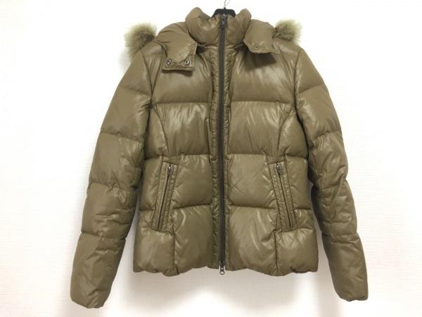クルーンアソング ダウンジャケット サイズ38 M レディース ダークベージュ 冬物