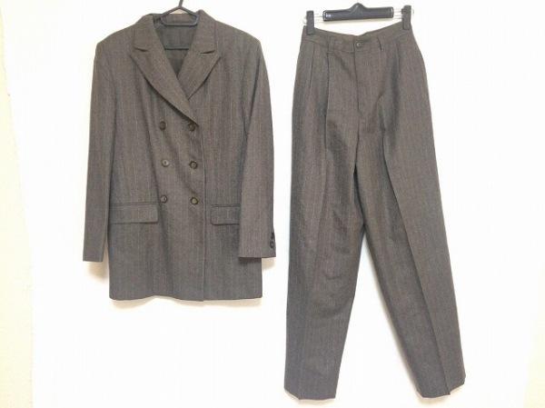 K.T.(キヨコタカセ) レディースパンツスーツ サイズL レディース美品  ダークブラウン