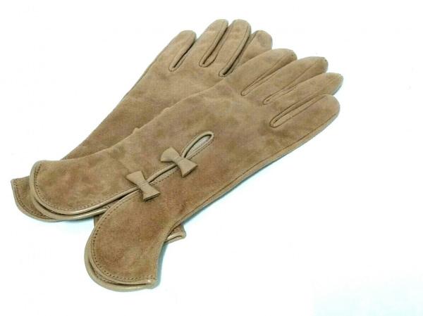 ガラグローブ 手袋 レディース美品  リボン