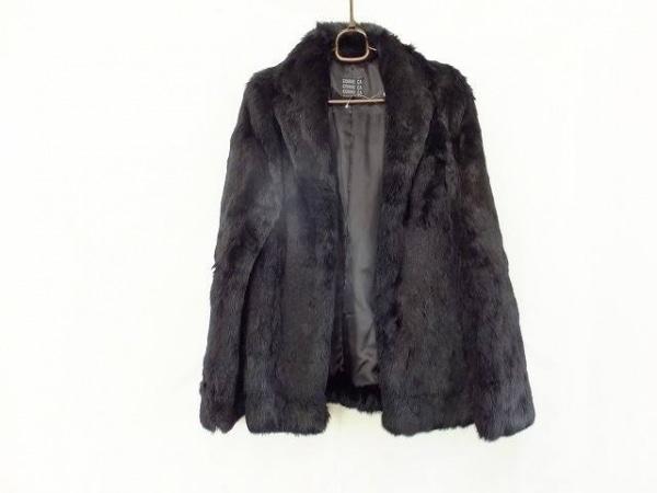 コムサ コート サイズ9 M レディース 黒