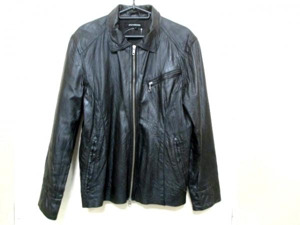 ジャックローズ ライダースジャケット サイズ3 L メンズ 黒 春・秋物/レザー