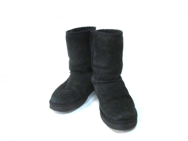 ラブコレクティブ ショートブーツ 5 黒