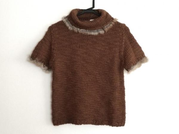 インゲボルグ 半袖セーター サイズM