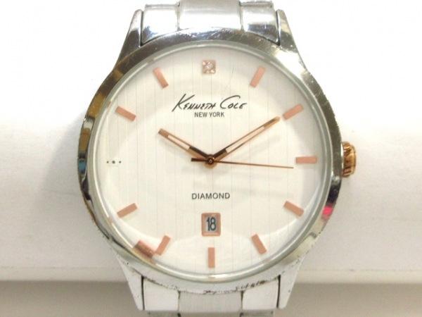 ケネスコール 腕時計 KC9367 レディース 白