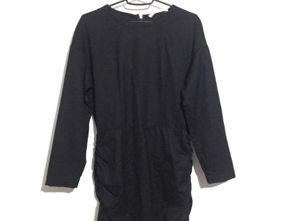 フィガロ ワンピース サイズ38 M美品  黒