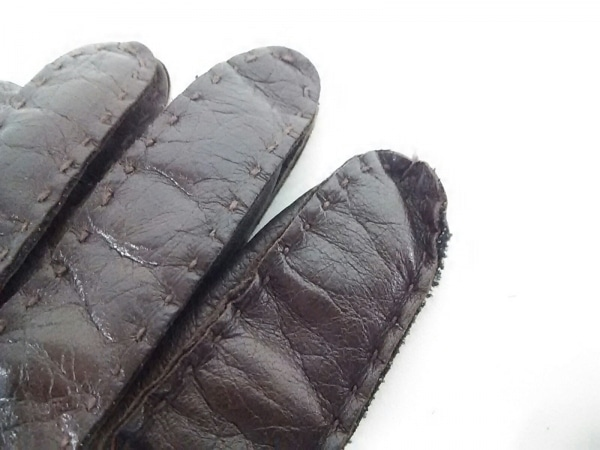 レステリ 手袋 7 1/2 レディース レザー
