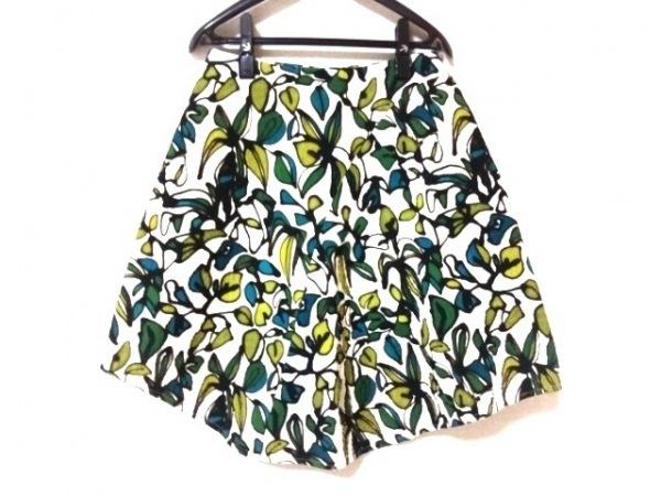 クリスチャンワイナンツ スカート サイズ36 S レディース美品  白×黒×マルチ