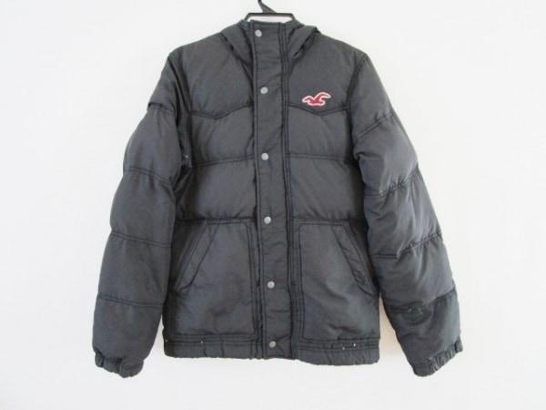 ホリスター ダウンジャケット サイズS 黒