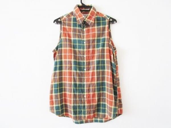インディビジュアライズドシャツ チュニック サイズ15 L レディース チェック柄
