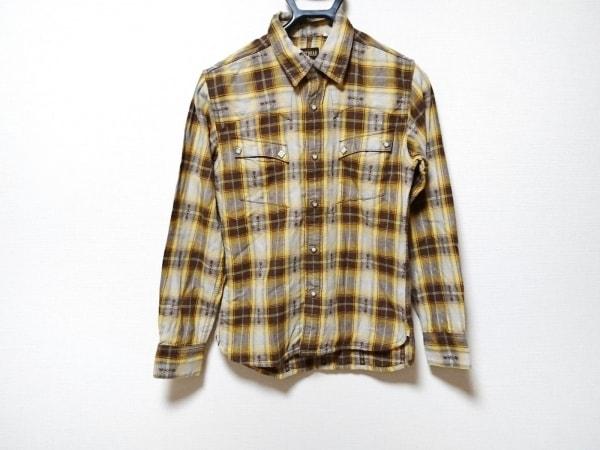 フラットヘッド 長袖シャツ サイズ34 S