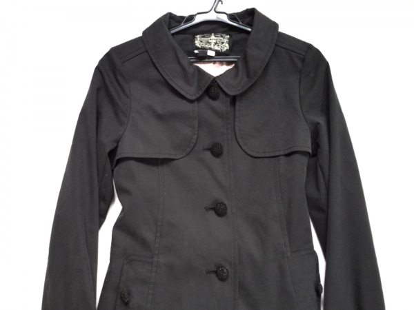 ジェームズコヴィエロ コート サイズ1 S 黒