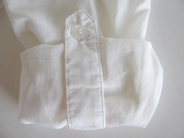 NARACAMICIE(ナラカミーチェ) 長袖シャツブラウス サイズ0 XS レディース 白