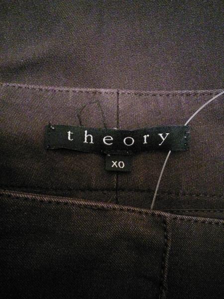 theory(セオリー) パンツ サイズX0 XL レディース ボルドー 3